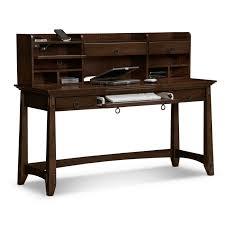 m espresso stained teak wood laptop desk with keyboard rack and several shelf plus u shape stretcher black desk vintage espresso wooden