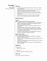 Volunteer Cover Letter No Experience Beautiful Cna Resume Sample