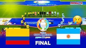 Colombia vs Argentina - Final Copa ...