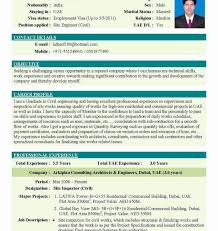 Funky Best Resume Format Pdf India Pictures Documentation Template