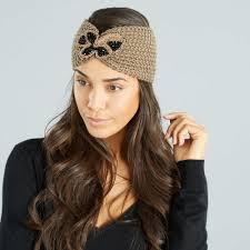 Tendance Bandeau Cheveux Femme Tricot Coiffures à La Mode