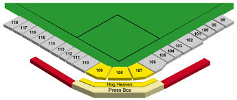 Evenue Online Ticket Office Seating Charts