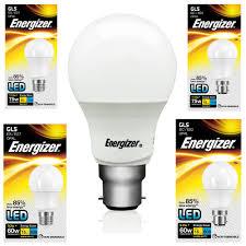 Es E27 Energy Saving Light Bulbs Energizer Energy Saving Led Light Bulb Bc B22 Es E27 Gls Globe Daylight Softone Ebay