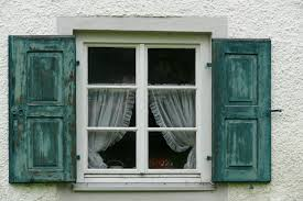 architecture wood antique window glass building old green curtain facade blue furniture door shutter interior design