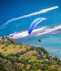 learn to paraglide bali