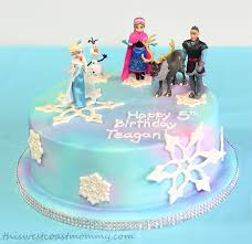 How Paulas Custom Cakes In Langley Bc Saved Our Frozen Birthday