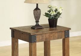 Wooden Side Table Table Amazing Reclaimed Wood Side Table Diy Magnificent Wood