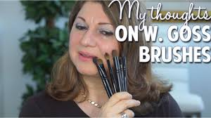 my final thoughts on wayne goss brushes gossmakeupartist