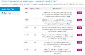 Telenor Recharge Chart Airtel 4g Vs Idea 4g Vs Vodafone 4g Vs Rcom 4g Data Plan