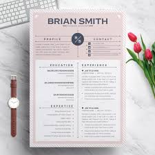 Resume Template Modern Creative Professional Resume Template For Word