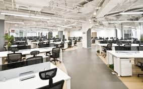 open office concept. Having Wide-open Office Spaces Is A Trend That Has Gained Popularity In Recent Years. While The Concept Seems Like It Would Foster Community, Open