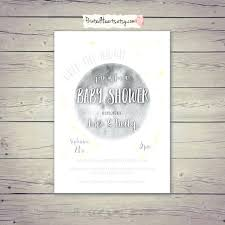 Stars Invitation Template Good Looking Etsy Baby Shower Invitations Twins Woodland
