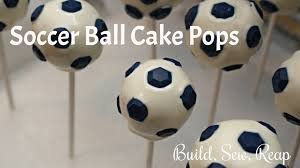 How To Decorate A Soccer Ball Cake Build Sew Reap Soccer Birthday Party Soccer Ball Cake Pops 39