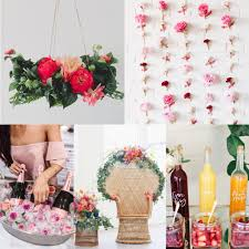 gorgeous boho fl themed bridal shower inspiration