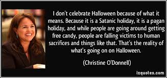 Christian Quotes On Halloween Best of 24 Fundamental Facts For Halloween Stuff Fundies Like