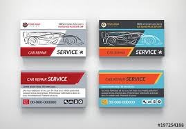 Automotive Services Business Card Layouts 5 Buy This Stock Template