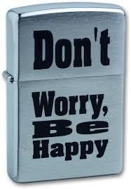 <b>Зажигалка бензиновая Don</b>`<b>t</b> Worry (серебристая) | www.all220v.ru
