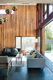 Best Open Plan Living Designs House Timber Panel Walls Area Q Dx Y: Full ...