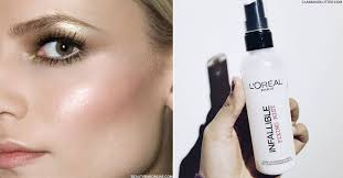 whilst a primer may be a staple in your make up kit chances are you re less familiar with setting sprays on hand to guarantee your make up lasts all day