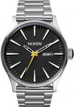 "nixon watches uk men s ladies watch shop comâ""¢ mens nixon the sentry ss watch a356 1227"