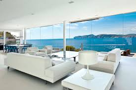 Bright And Modern Mallorcan Retreat Lets The Scenery Complete It