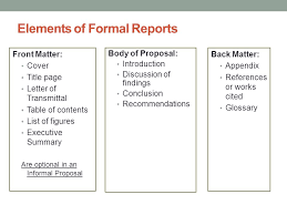 Informal Proposal Classy Proposals And Formal Reports Ppt Download