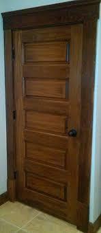 wood interior doors. 5 Panel Wood Interior Doors Horizontal Poplar Door Craftsman Hall Other By Architecture .