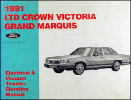 1991 ford crown victoria and mercury grand marquis wiring diagram 1988 Mercury Grand Marquis Wiring Diagram 1991 ford crown victoria mercury grand marquis electrical troubleshooting manual 1989 mercury grand marquis wiring diagram