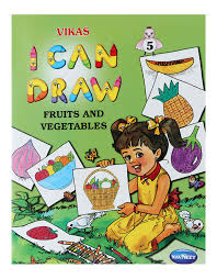 navneet i can draw the fruits and vegetables