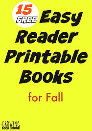 emergent and early reader printable books for kids are perfect for beginning readers from growingbookbybook