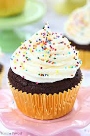 chocolate cupcake with cream cheese frosting. So Soft Fluffy And Full Of Chocolate Flavor In Every Bite These Sugar Inside Cupcake With Cream Cheese Frosting
