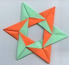 Origami Sterne Faltanleitung 3d Stern Taschenstern Anleitung