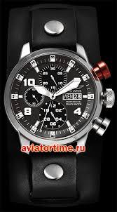 Швейцарские наручные <b>мужские часы AVIATOR P</b>.<b>4.06.0.016</b>.4 ...