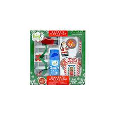arcadia garden products santa s work polyresin fairy garden kit 9 piece