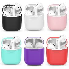 TPU <b>Silicone Bluetooth Wireless Earphone</b> Case for Apple Airpods ...