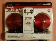 magnetic trailer lights 12v magnetic towing tow lights for behind diesel wrecker tow dolly or on trailer