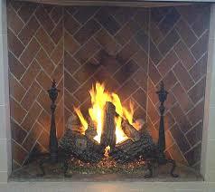 best fireplace logs fireplace gas log sets by propane fireplace logs home depot