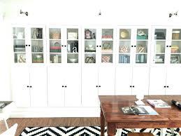 ikea glass bookcase glass bookcase bookcase makeovers that look shockingly glass door bookcase glass door billy