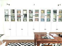 ikea glass bookcase glass bookcase bookcase makeovers that look shockingly glass door bookcase glass door billy