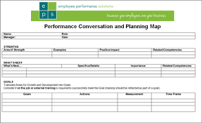 Performance Review Forms Simple 1 Page Performance Review Form