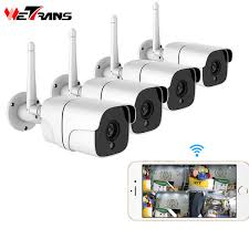 2019 <b>Wetrans</b> Wireless <b>Security Camera System</b> 1080P <b>IP Camera</b> ...
