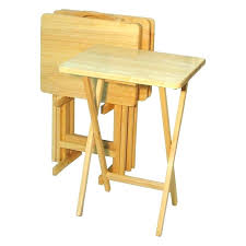 table tray sets wooden tv tray table set target table tray sets