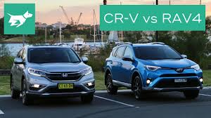 2017 Honda CR-V vs 2017 Toyota RAV4 Comparison Review - YouTube