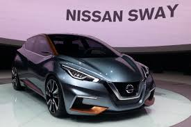 new car release in 20162016 Nissan Sway Release Date  2017  2018 Car Reviews