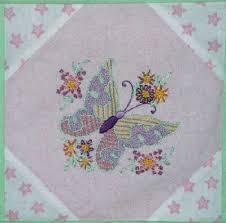 Embroidered Baby Quilt Update! – NeedlenThread.com & Flannel Baby Quilt with Hand Embroidered Squares Adamdwight.com