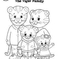 Sweet Inspiration Daniel Tiger Coloring Pages Best Printable Free To