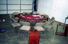 60 round table with folding drink