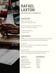 Writting A Modern Resume Modern Vertical Photo Resume Templates By Canva