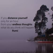 Rumi Quote On Thoughts Rumi Quotes Extraordinary Rumi Quote