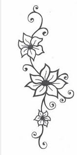 Small Picture The 25 best Simple flower drawing ideas on Pinterest Dibujo
